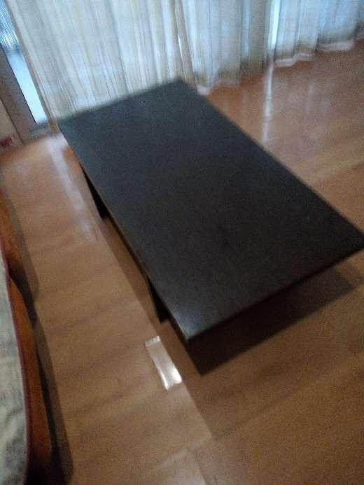 Imagen mesa baja de madera