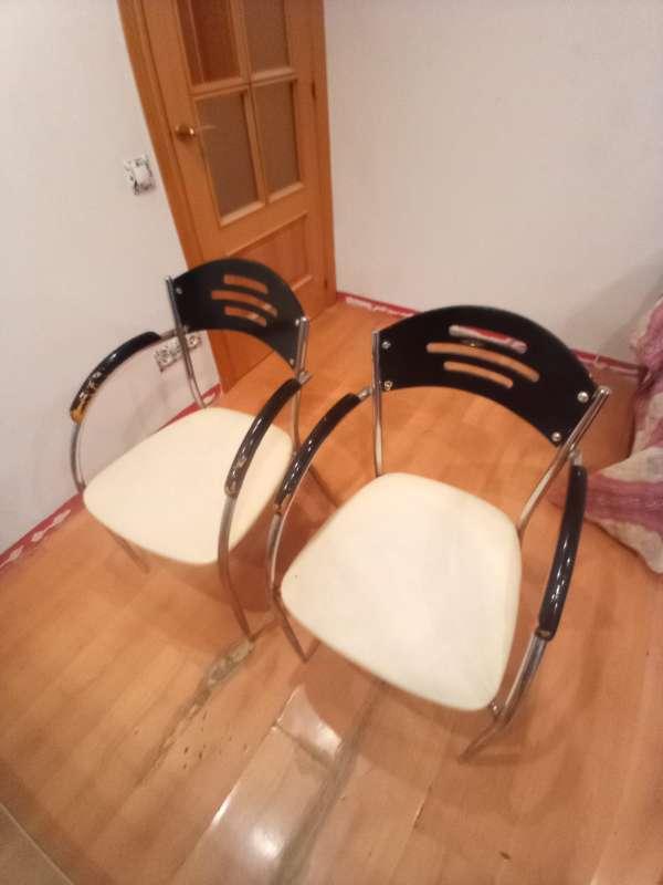 Imagen juego de 4 sillas de comedor