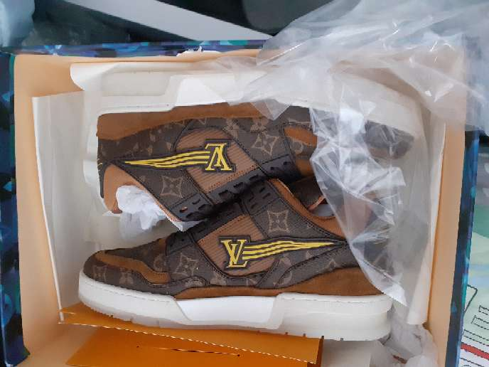 Imagen zapatillas louis vuitton hombre