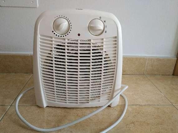 Imagen calefactor eléctrico