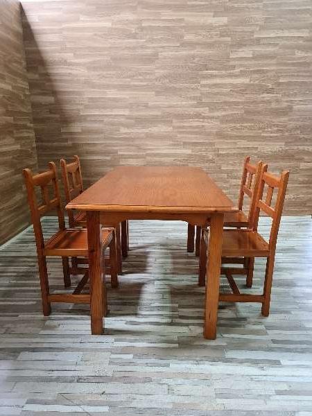 Imagen Conjunto mesa y sillas provenzal