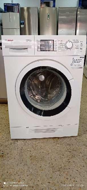 Imagen lavadora secadora marca Bosch