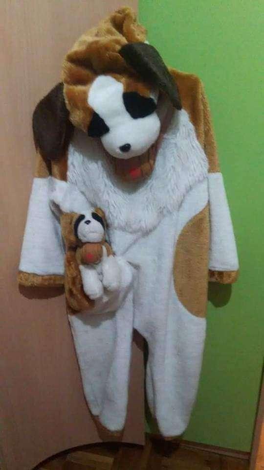 Imagen disfraz Perro y peluche