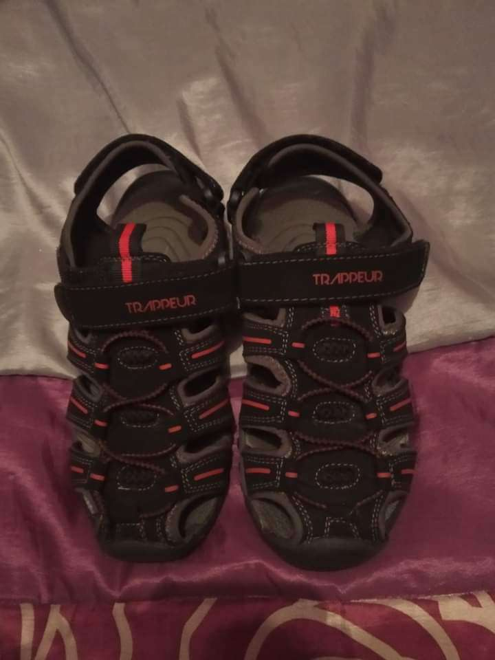 Imagen sandalias negras número 35