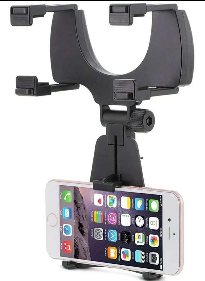 Imagen Soporte para celular GPS retrovisor