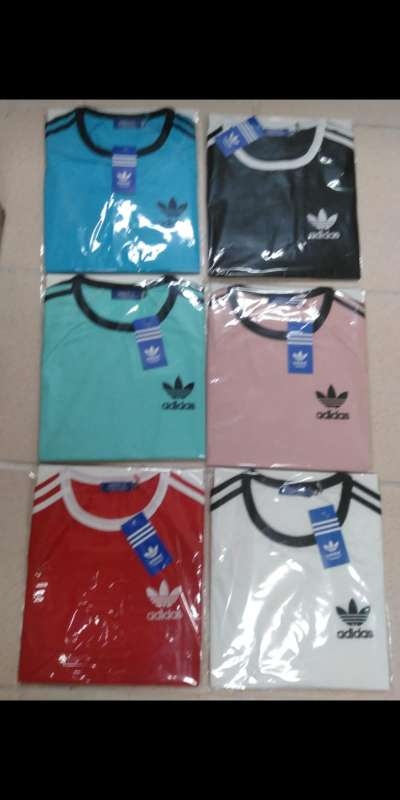 Imagen camiseta Adidas en rosa
