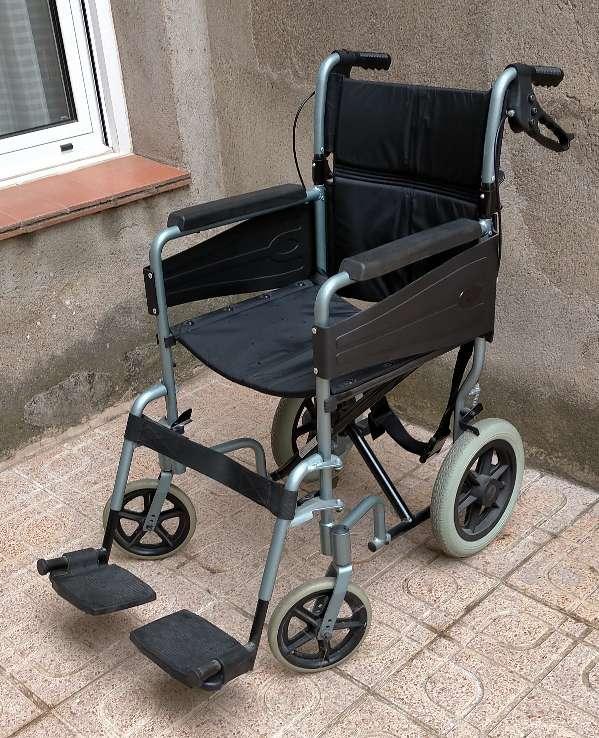 Imagen sillas de ruedas juvenil plegable