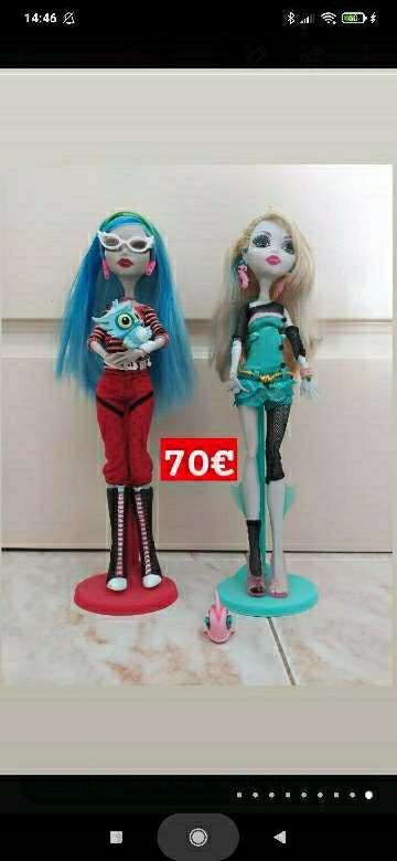 Imagen Muñecas Monster High