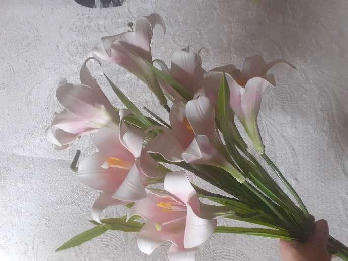 Imagen 7 Orquideas de tela  nuevas