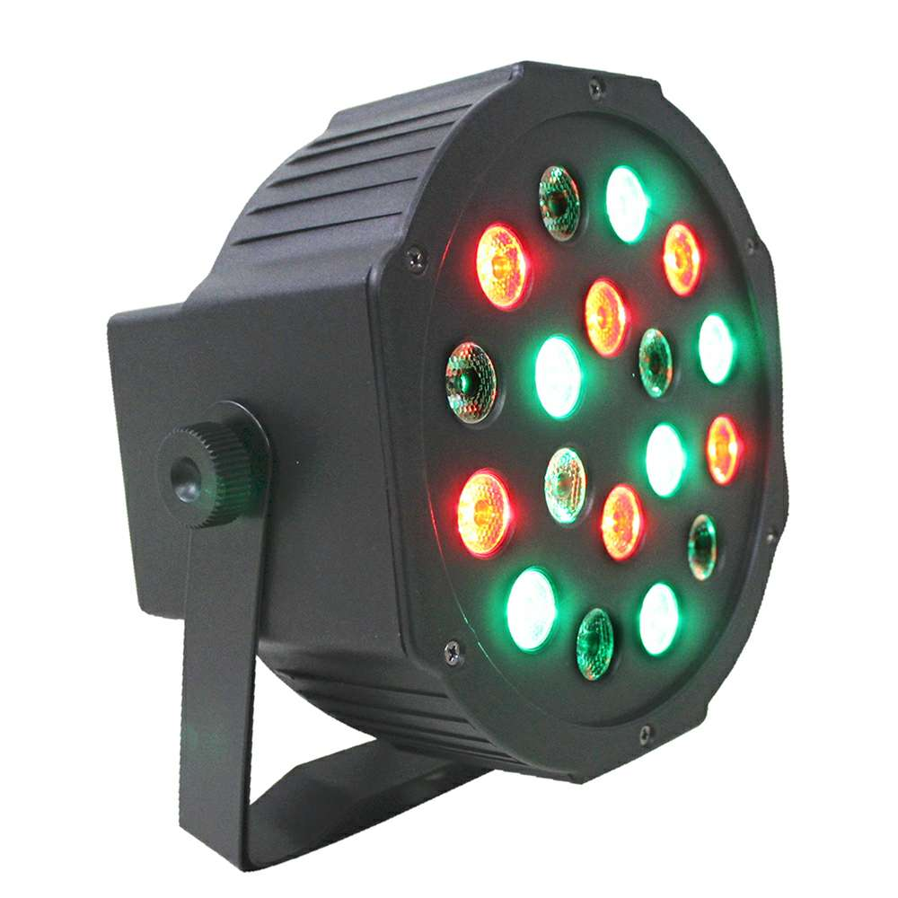 Imagen luces led iluminación audioritmica de 18 led