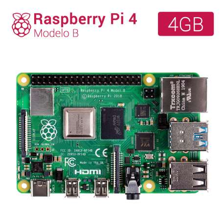 Imagen Raspberry Pi 4