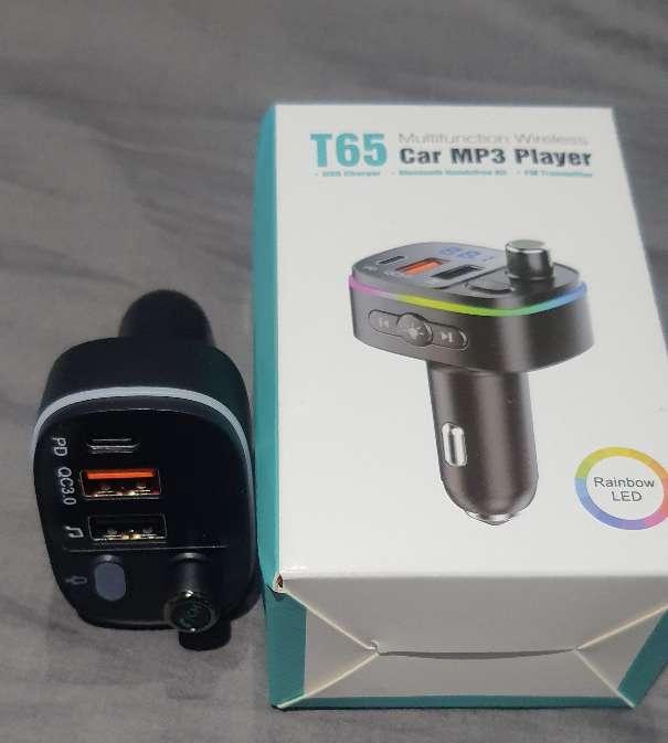 Imagen Bluetooth para audio, transmisor FM