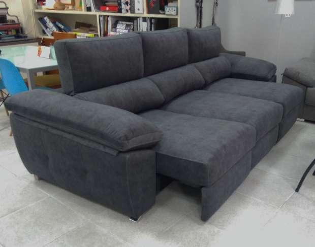 Imagen Sofá línea para cama color antracita