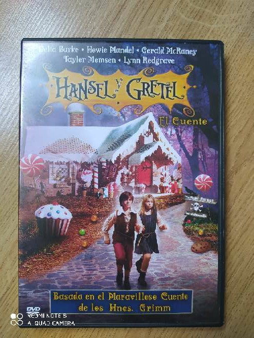 Imagen DVD Hansel y Gretel