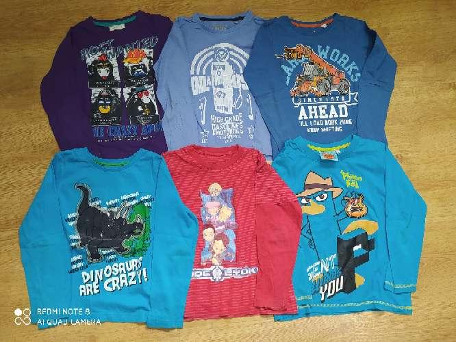 Imagen Lote 6 camisetas 7 años