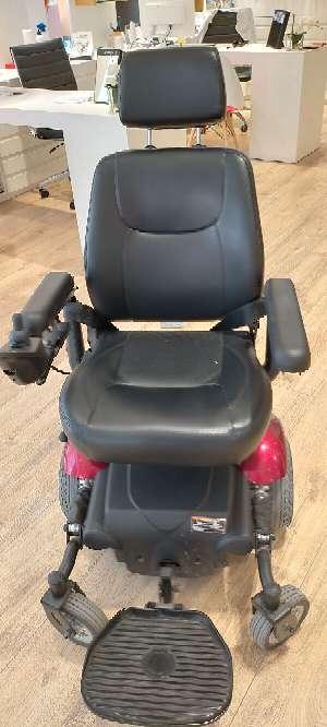 Imagen silla de ruedas eléctrica