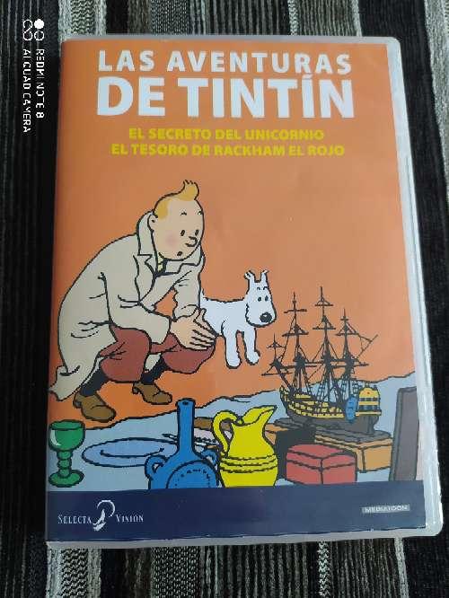Imagen DVD Las aventuras de Tintín