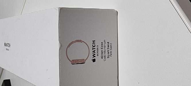 Imagen Watch 3 pink 42mm.
