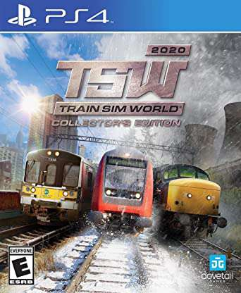 Imagen Train Sim World y Train Sim World Collector Edition