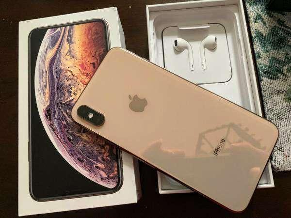 Imagen iPhone XS Max dorado