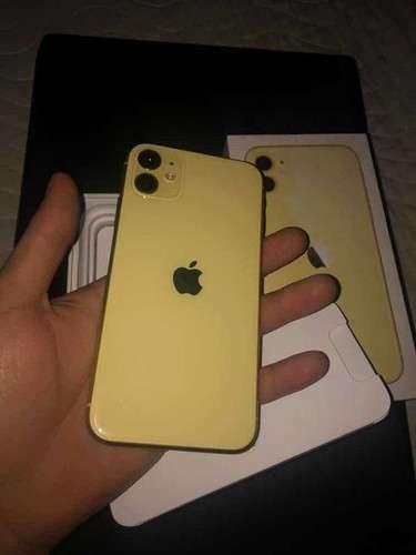 Imagen iPhone 11 amarillo