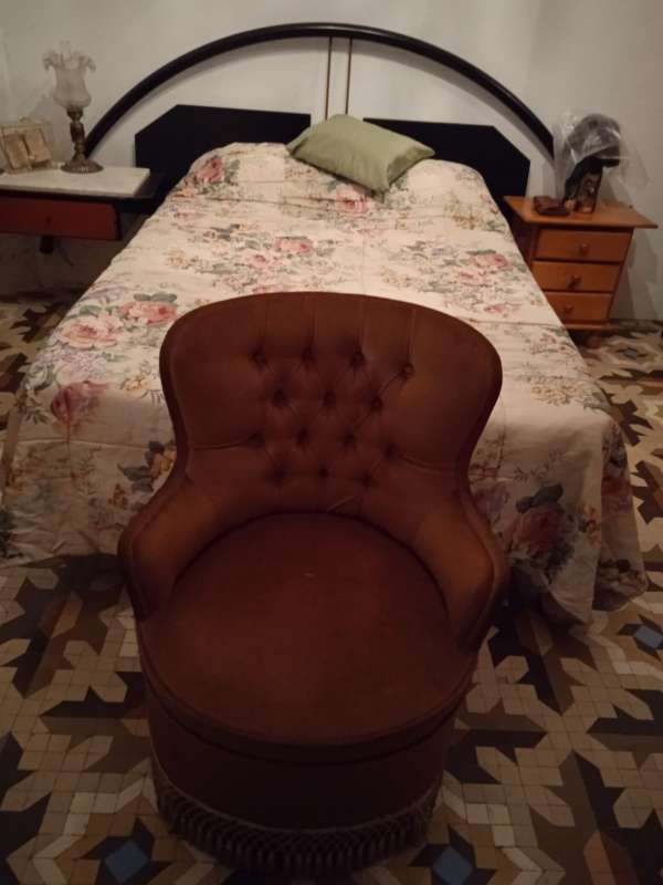 Imagen sillón rojo