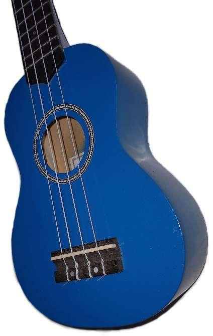 Imagen Ukelele soprano (azul perlado)