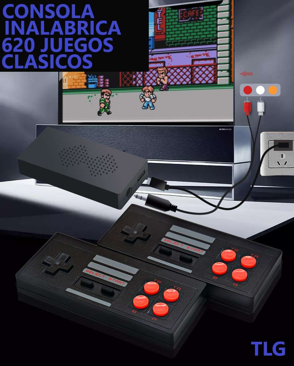 Imagen Consola retro con 620 juegos