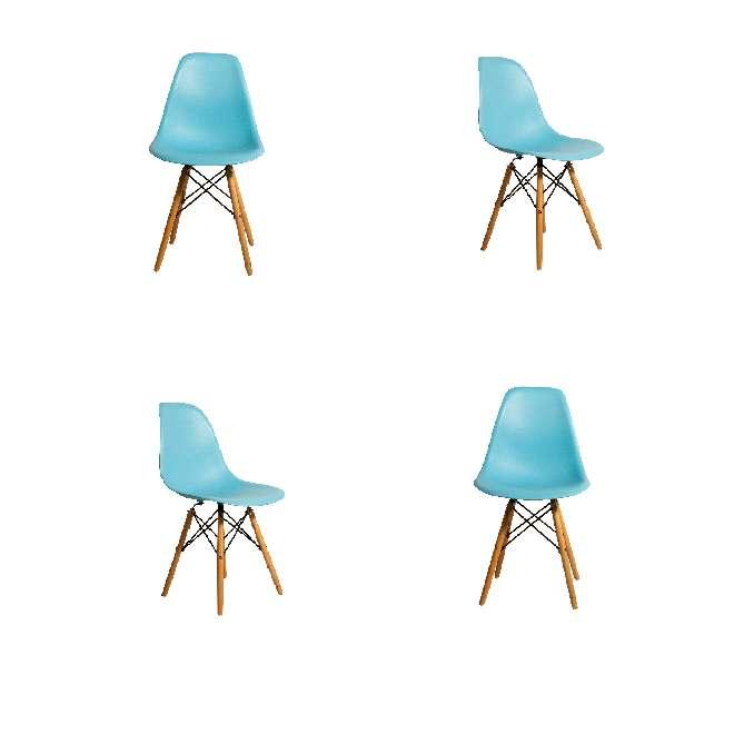 Imagen espectacular kit por 4 sillas