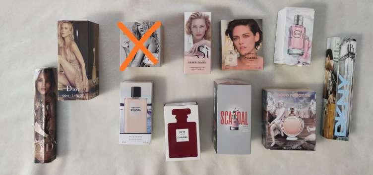 Imagen perfumes de hombre y mujer