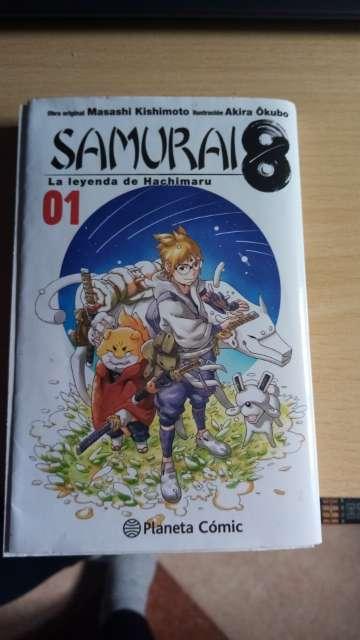 Imagen Manga Samurai 8