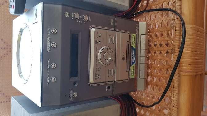 Imagen radio cd cassette