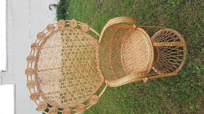Imagen sillón mimbre