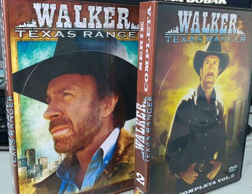 Imagen Walker Texas ranger serie completa dvd