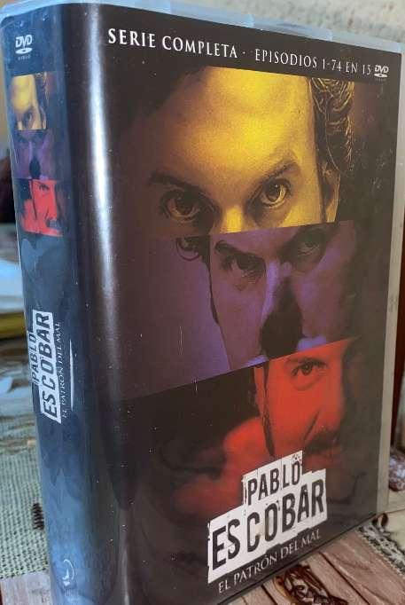 Imagen Pablo Escobar Serie Completa