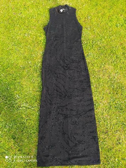 Imagen Vestido negro ZARA talla S
