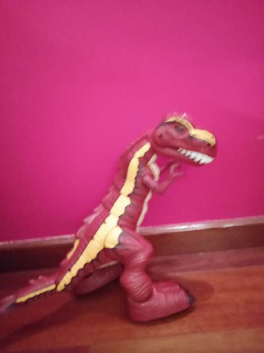 Imagen dinosaurio electrico