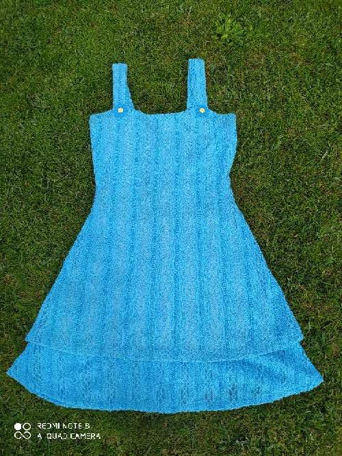 Imagen Vestido azul talla S