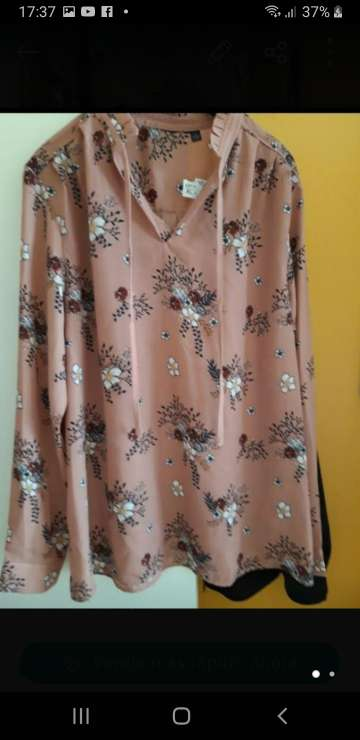 Imagen camisa flores nueva