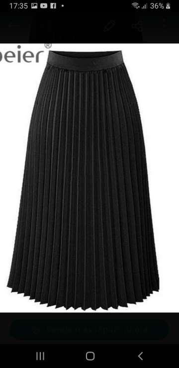 Imagen falda  raso nueva