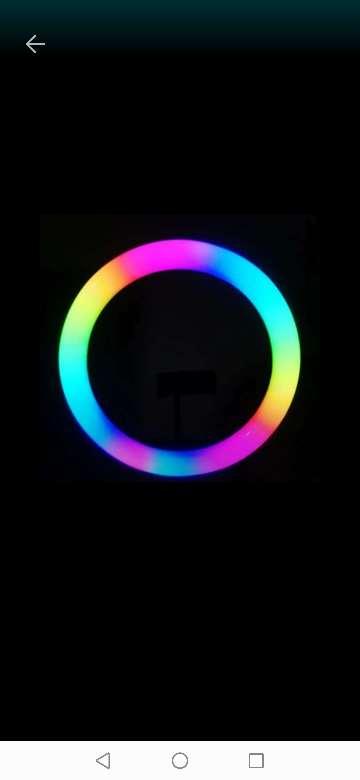 Imagen Aro de luz de colores