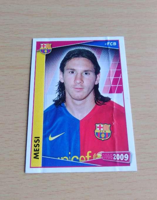 Imagen Messi card fútbol.