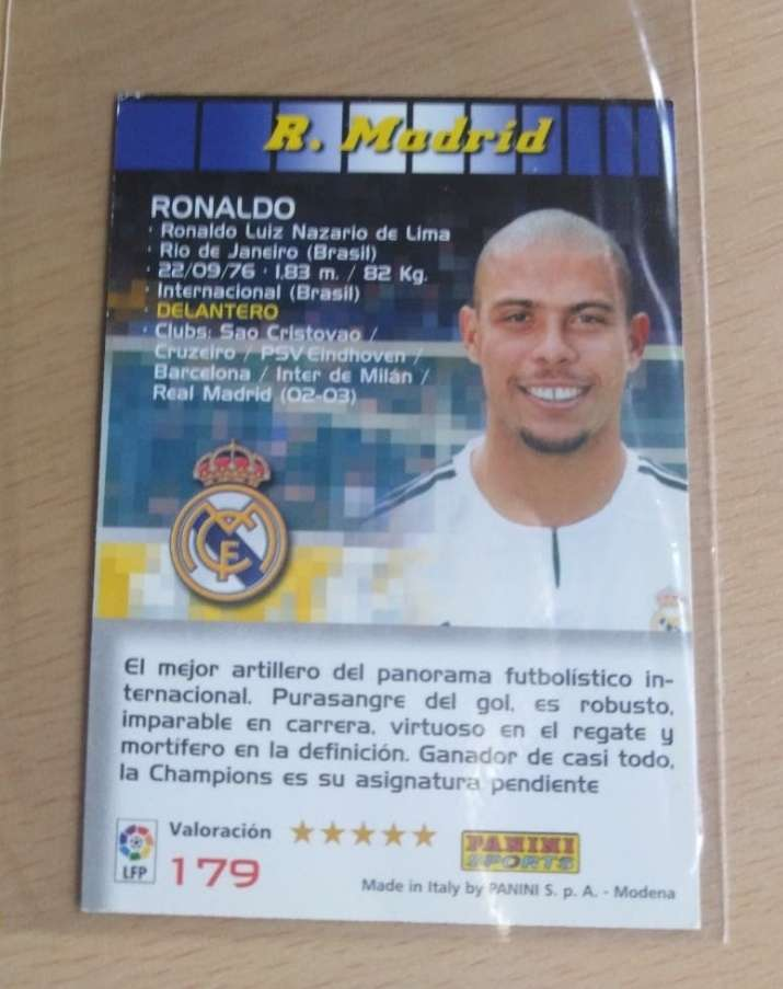 Imagen producto Ronaldo Nazario. Futbol 2