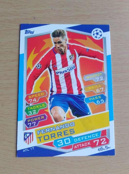 Imagen Fernando Torres card.
