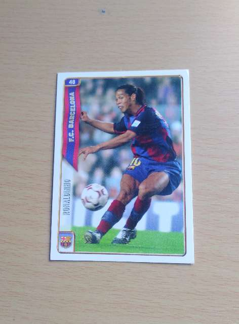 Imagen Ronaldinho card Fútbol.