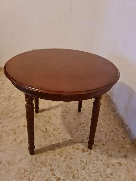 Imagen Mesa camilla madera extensible 90