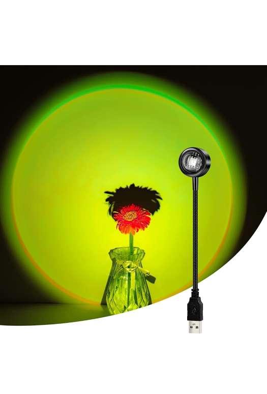 Imagen Mini lámpara de proyección led arco iris