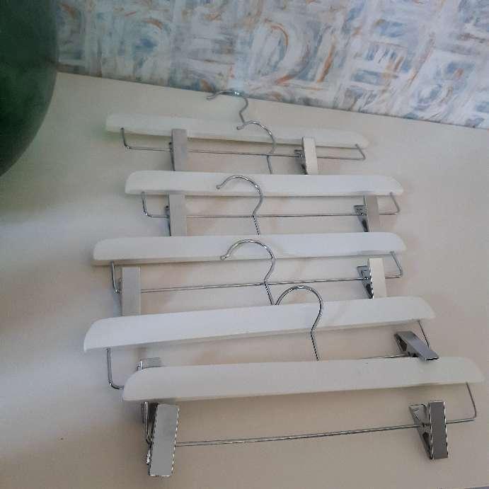 Imagen Perchas Nuevas De madera 11 Unidades