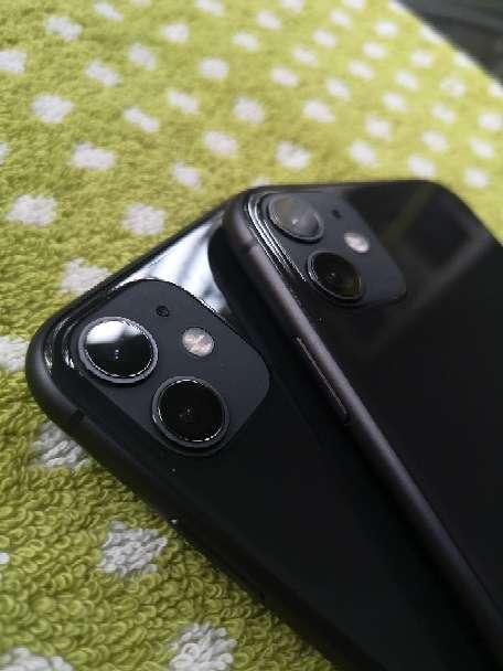 Imagen IPhone 11 Negro 128GB con marcas en pantalla 95% batería