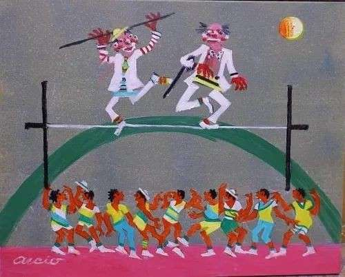 Imagen Aécio tema palhaços do circo